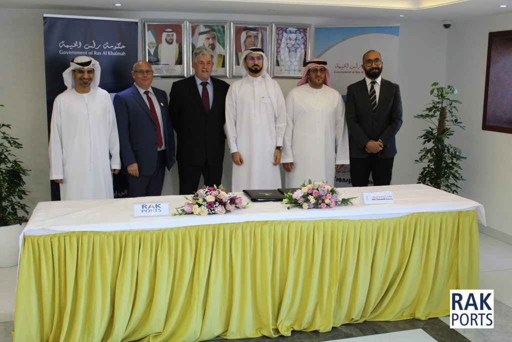 Ras Al Khaimah Ports sign MoU with RAK Transport Authority providing new opportunities and transport links for cruise and water tourism in the Emirate